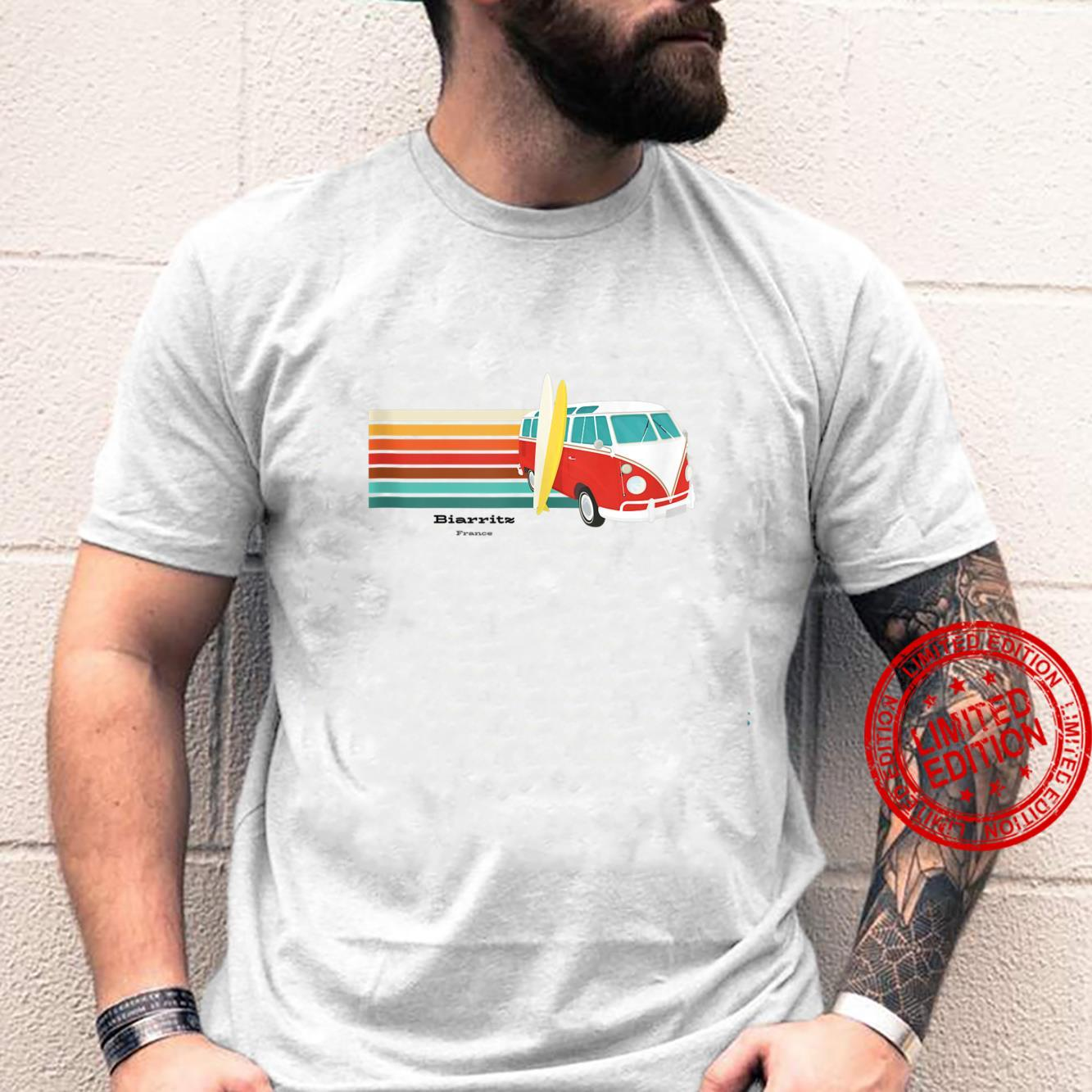 Go to Biarritz, France for Surfing Shirt