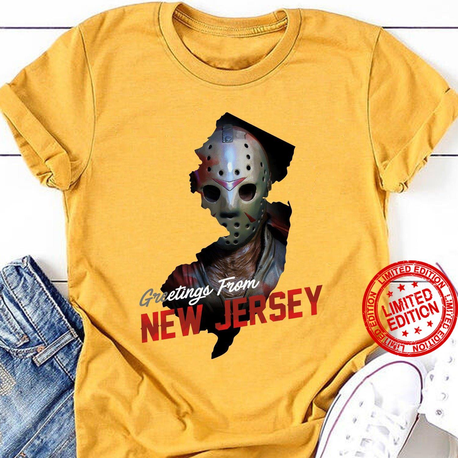 Greetings From New Jersey Shirt