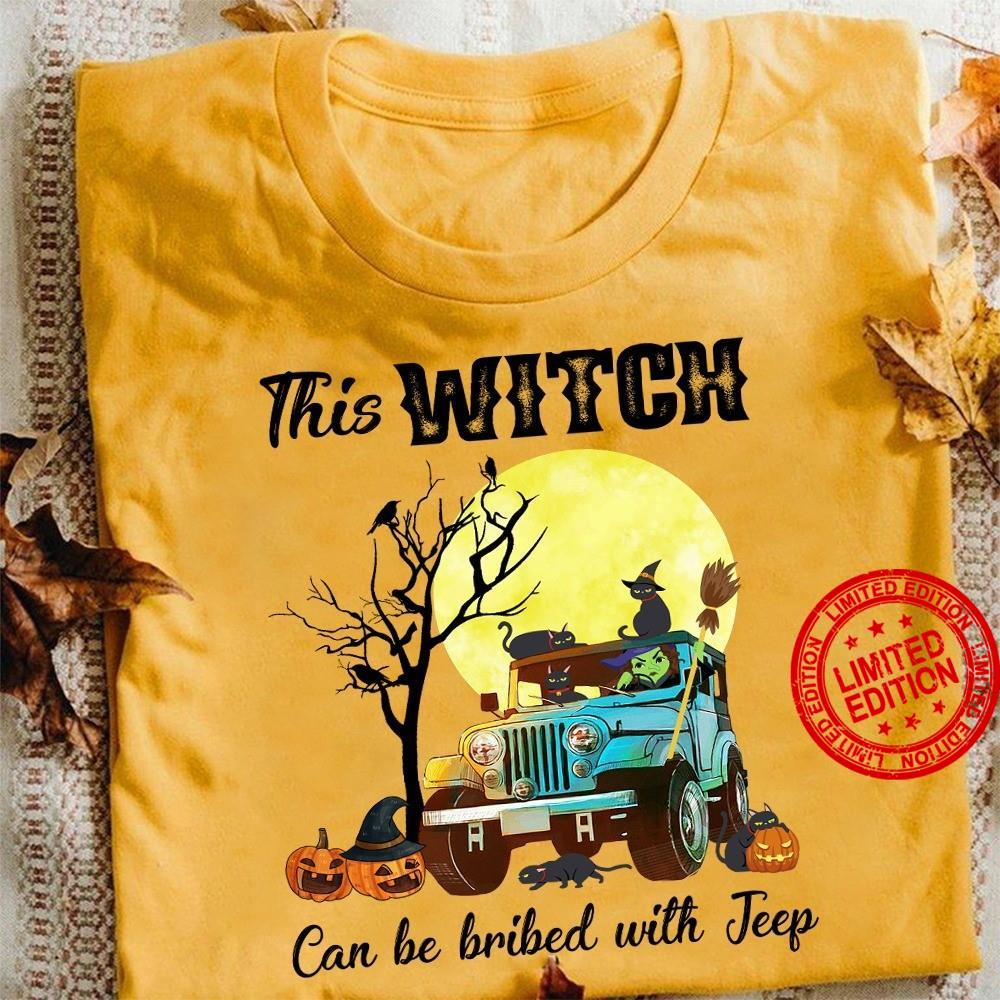 This Witch Can Be Bribed With Jeep Shirt